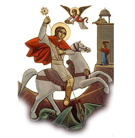 St Georg - Der Heilige St Georg