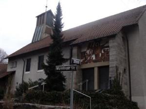 St Georg Kirche von draussen